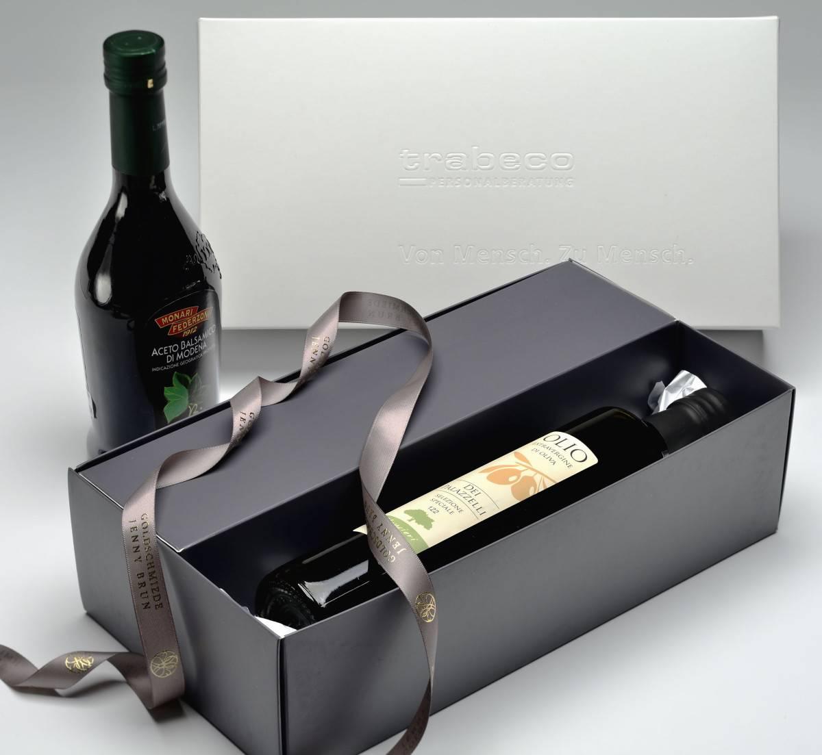 Geschenkverpackung für Wein