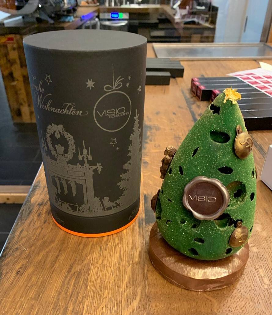 Kartonverpackung Schokolade