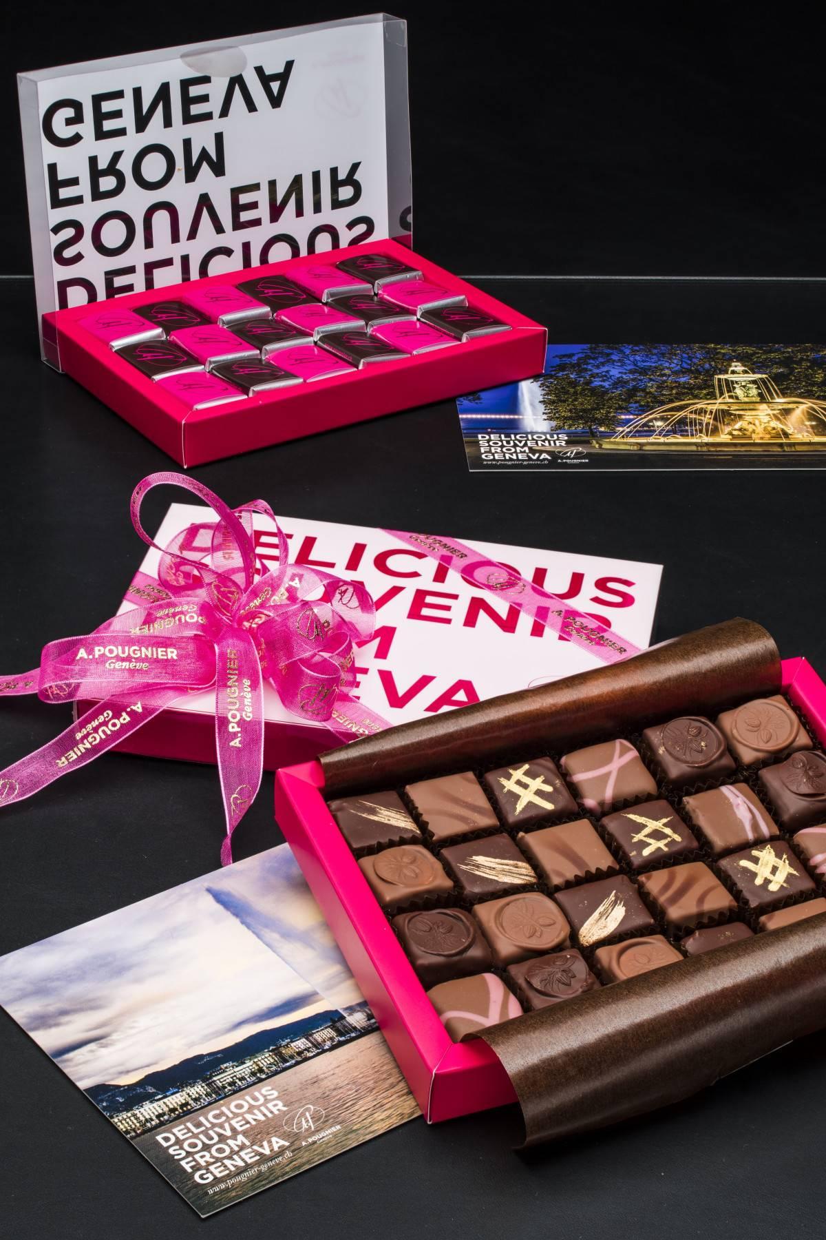 Box für Schokolade