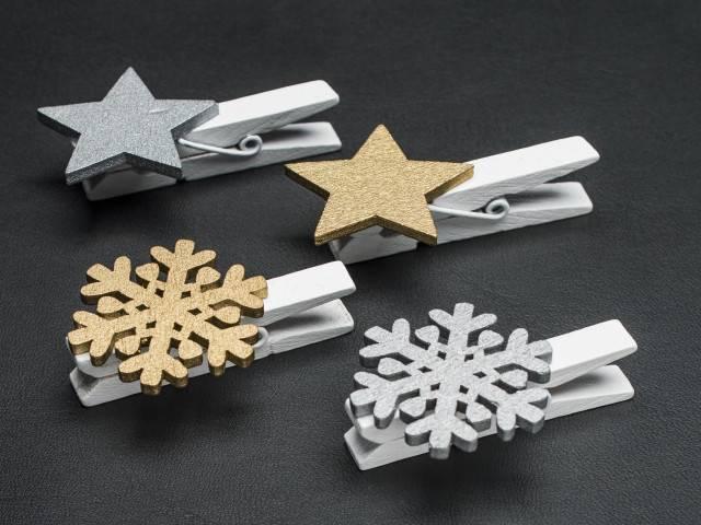 Clip Star / Snowflakes