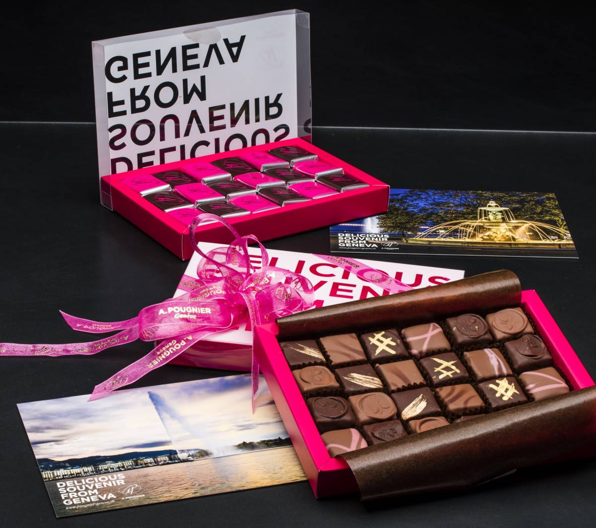 Verpackung Schokolade