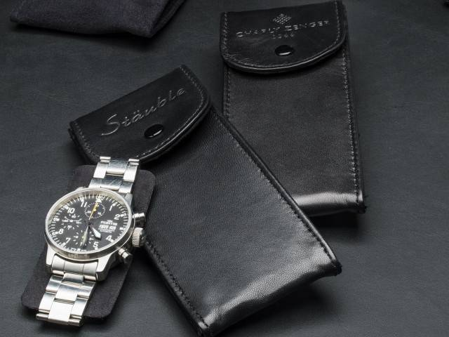 Watch Pouch Plus Leder